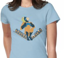 Animalman and The Birds Womens Fitted T-Shirt
