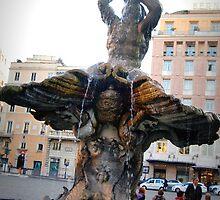 Fontana del Tritone, Roma, Italia by outspoken82