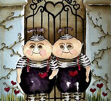 Tweedle Dee and Twiddle Dum by StressieCat
