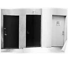 Missing Door Poster