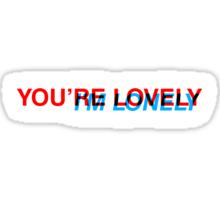 Lovely/Lonely Sticker