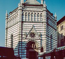 Baptistry Pistoia 198403140007 by Fred Mitchell