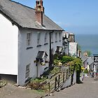 Clovelly High Street  by Photography  by Mathilde
