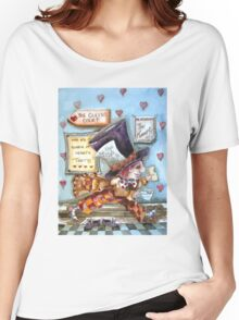 The Mad Hatter - running fom court Women's Relaxed Fit T-Shirt