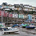 Brixham Boats by LydiaBlonde