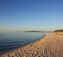 Sorento Beach Sunset by Jon Charles