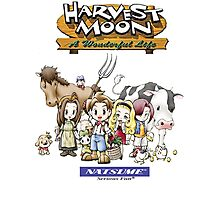 Harvest Moon (AWL)  Photographic Print