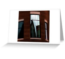 Reflections in Architecture   Greeting Card