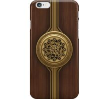 Steam Punk Decorative Wooden Case iPhone Case/Skin