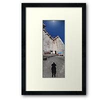Shoes To Sky | Powerhouse (Outside) Framed Print