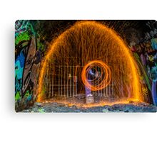 Tunnel of Light Canvas Print