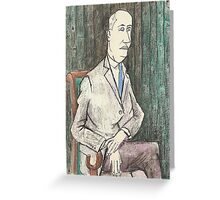 Postcard from Europe - Chistian Dior by Buffet Greeting Card