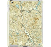 USGS TOPO Map New Hampshire NH Penacook 330285 1927 62500 iPad Case/Skin