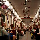 The Subway Car Goes On Forever by Gary Chapple