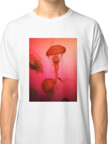 Portrait of a Jellyfish- Pink Classic T-Shirt