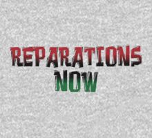 REPARATIONS NOW PRINTS, CARDS & POSTERS. Baby Tee