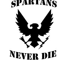 Halo Spartans Never Die by MisterNightmare