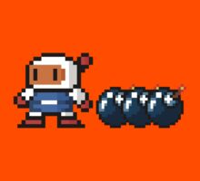 Bomberman pixel Kids Tee
