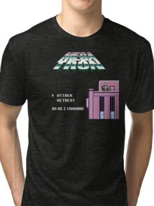 Title Screen Takeover 1 Tri-blend T-Shirt