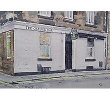 Oxford Bar (Rebus's pub) Photographic Print