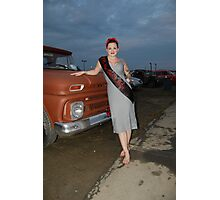 Miss Steel in motion 2013 Photographic Print