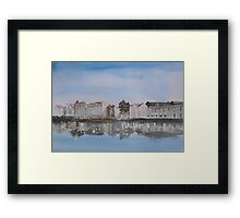 Leith Waterfront Framed Print