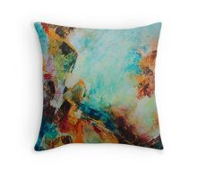 Synopsis, featured in AbstractSurrealArt Throw Pillow