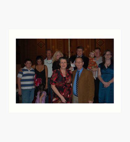 The Robertson Clan.... Art Print