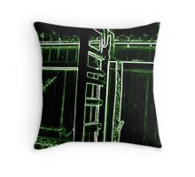 Electrified! Throw Pillow