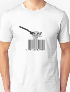 Spaghetti Bar Code T-Shirt