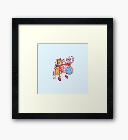 Snappy Framed Print