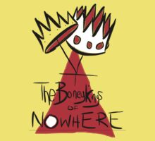 The Boney Kings of Nowhere Crowns Kids Tee