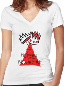 The Boney Kings of Nowhere Crowns Women's Fitted V-Neck T-Shirt