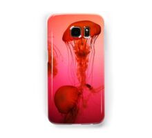 Portrait of a Jellyfish- Pink Samsung Galaxy Case/Skin