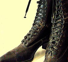 Baily's Lace Up's by Susan Bergstrom