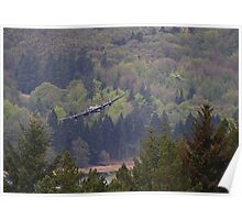 Dambusters 70 Years On - Flypast At The Derwent Dam - 5 Poster