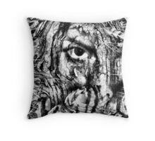 cover my face Throw Pillow