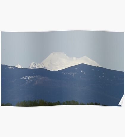 Skagit Valley View of Mount Baker Easton Glacier, USA Poster