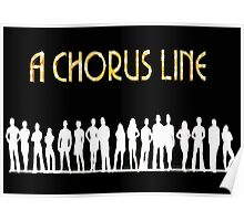 A Chorus Line Poster Poster