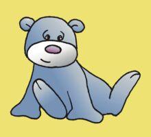Blue Teddy bear Kids Clothes