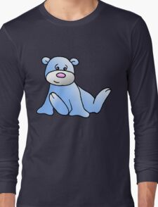 Blue Teddy bear Long Sleeve T-Shirt