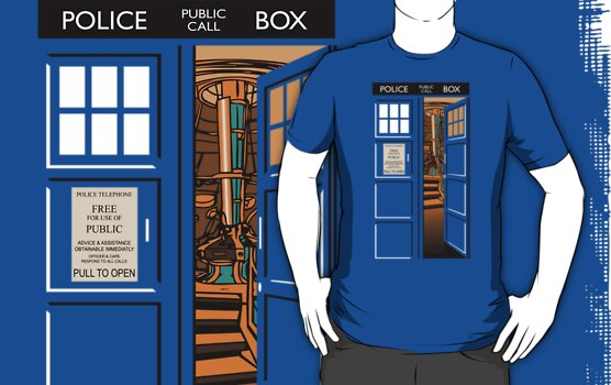 TARDIS, bigger on the inside v.2 by ikado