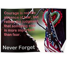 Courage After 911 Poster