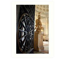Hall of the Chariot, Vatican, Roma, Italia Art Print