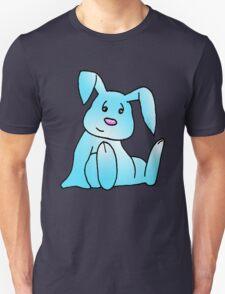 Turquoise Bunny Rabbit Unisex T-Shirt
