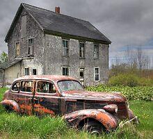 The Old Pontiac by Amanda White
