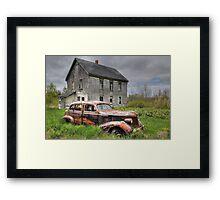 The Old Pontiac Framed Print