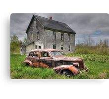 The Old Pontiac Canvas Print