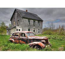 The Old Pontiac Photographic Print