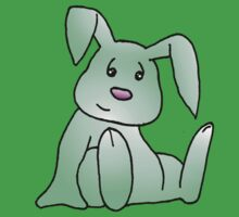 Green Bunny Rabbit by jkartlife
